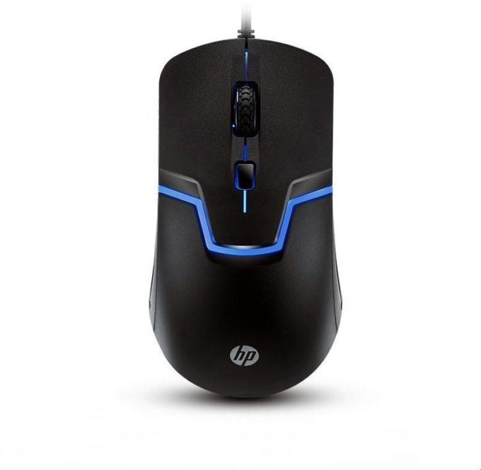 HP wired optical gaming mouse m100